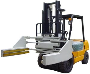 Tire Clamp Forklift Attachment